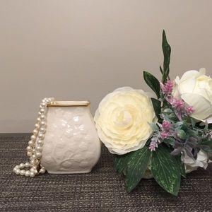 Vtg. Lenox Cherry Blossom Vase